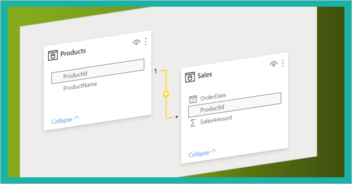 From Excel to Power BI: using normalized tables (2)
